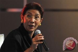 Menteri Susi sebarkan kebijakan kepada pemimpin global