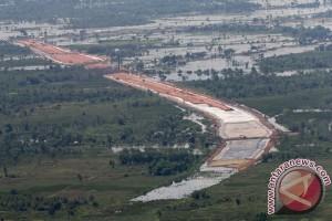 Pembangunan tol Palembang-Indralaya terus dikebut