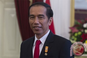 Presiden Jokowi bagi-bagi sepeda di Hong kong