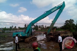 Jumlah kolam retensi di Palembang belum memadai