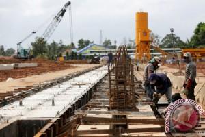 Pembangunan Masjid Raya Palembang terus dikebut