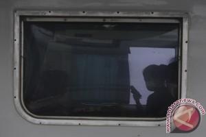 Pemudik Di Stasiun Kertapati Palembang