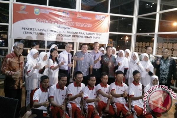 Pusri-PTBA kirim 20 siswa ke Maluku Utara