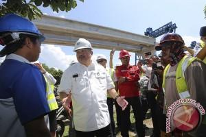 Gubernur Sumsel minta pembangunan infrastruktur jangan terhambat