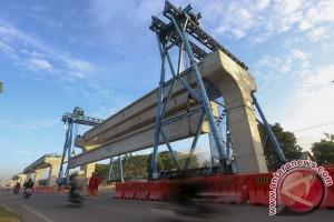 Pejabat: Pembangunan LRT untuk hindari kemacetan