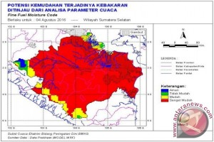 BMKG: Masyarakat Sumsel waspadai peningkatan curah hujan
