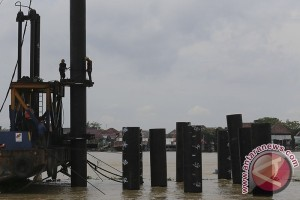 Pembangunan Jembatan Musi VI Palembang sesuai rencana