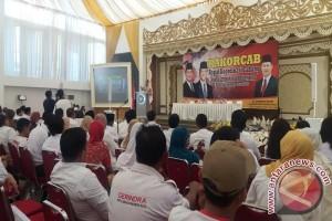 Gerindra ajak kader rapatkan barisan hadapi Pilkada 2018