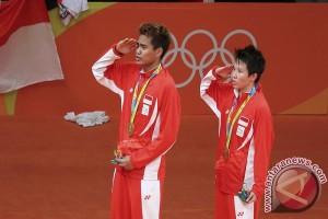 Perolehan medali sementara Olimpiade 2016