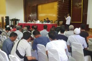 Pedagang pasar 16 Palembang datangi DPRD Sumsel