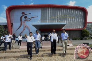 Presiden ASTC tinjau tempat kejuaraan internasional triathlon