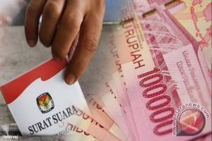KPU: Saldo dana kampanye calon Rp1 juta
