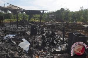 Penambangan minyak ilegal Batanghari Jambi kembali beroperasi