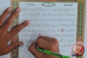 Warga binaan narkotika diterapi menulis Al Quran