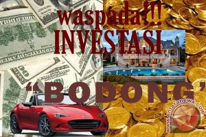Hati-hati investasi bodong