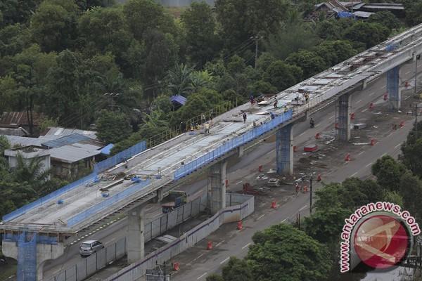 PLN mulai pasang jaringan listrik LRT