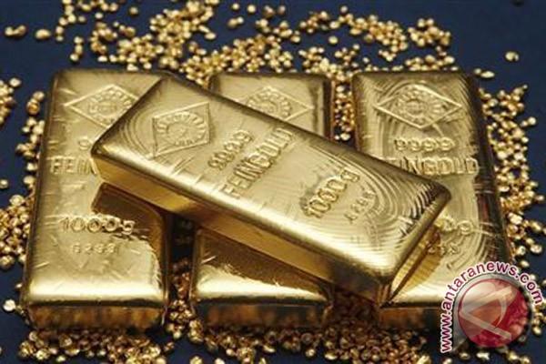 Ketegangan geopolitik terus mendorong emas berjangka naik