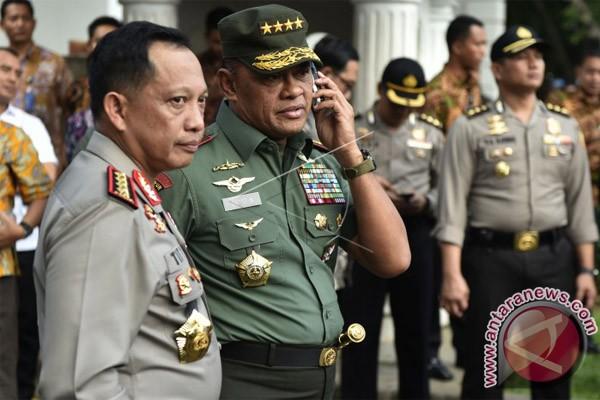 Panglima TNI-Kapolri hadiri apel nusantara bersatu