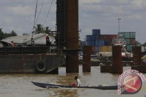 Progres Pembangunan Jembatan Musi IV