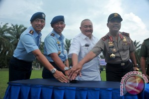 Peresmian Nama Baru Lanud Palembang
