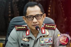Kapolri pantau TPS Presiden Jokowi