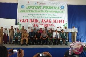 Job Pertamina Talisman berikan bantuan siswa berprestasi