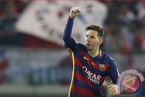 Luis Enrique senang Messi mulai diskusiakan kontrak baru