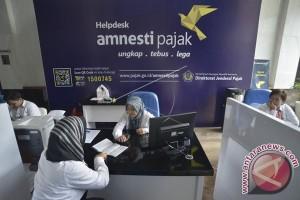 Realisasi Amnesti pajak Sumsel-Babel Rp965 miliar