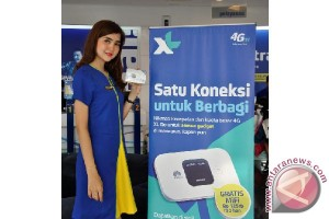 Xl Axiata perkuat layanan data 4G LTE