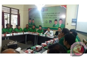 Pengurus PPP Sumsel akan dilantik serentak