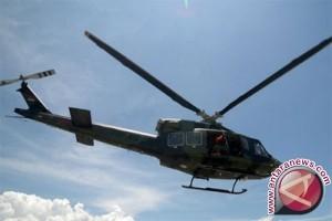 Helikopter KLHK terjebak cuaca buruk di Riau