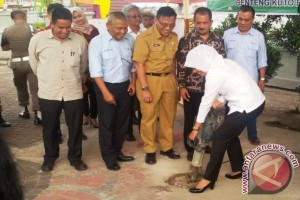 Pembangunan Tugu Belido ikon Palembang resmi dimulai