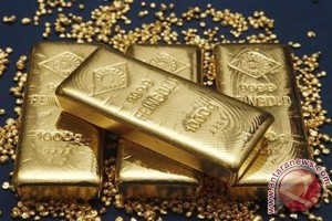 Kontrak emas berjangka tertekan penguatan dolar AS
