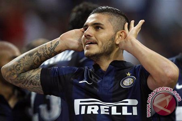 Icardi ukir trigol saat Inter tundukkan Atalanta