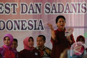 Iriana Jokowi tantang pengajar Paud di Riau