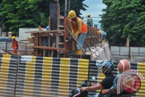 Pembangunan Infrastruktur kurangi kemacetan