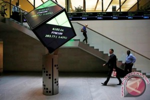 Indeks FTSE 100 Inggris berakhir jatuh 1,46 persen
