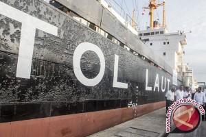 Kapal tol laut bawa muatan balik
