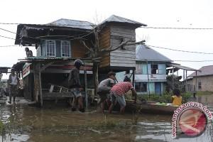 Banjir di Mesuji Lampung