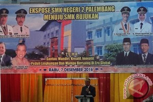 SMKN 2 Palembang jadi rujukan sekolah kejuruan nasional