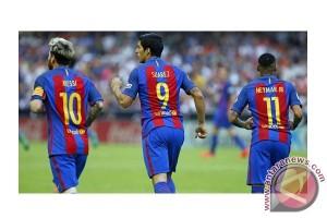 Barca juara Piala Raja Spanyol tiga kali beruntun