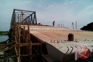 Jembatan Desa Kurup OKU mulai dibangun
