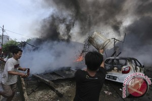 Kebakaran Di Jalan Veteran