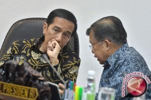 Presiden Jokowi bantah isu perombakan kabinet