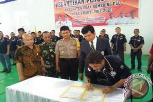 Ketua KONI Ogan Komering Ulu dilantik