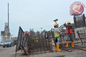 Pembangunan Fly Over perlintasan Sumatera