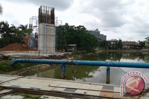 Kolam retensi Palembang akan dilengkapi enam pompa