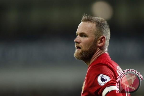 Rooney selamatkan MU dari kekalahan saat lawan Stoke
