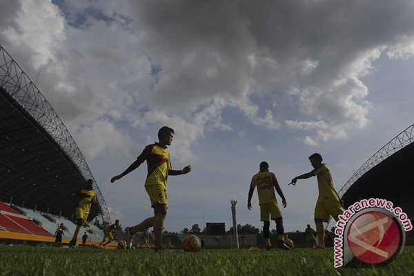 Sriwijaya FC pindah tempat berlatih