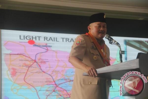 Gubernur minta Bupati Muba prioritaskan perbaikan jalan